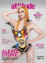 Attitude Issue 338 Alexis Stone front cover