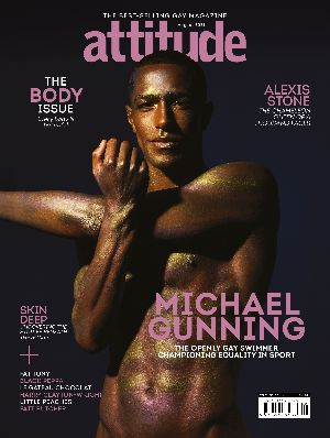 Attitude issue 338 Michael Gunning front cover