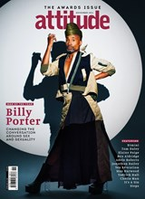 Attitude Issue 341 Billy Porter front cover