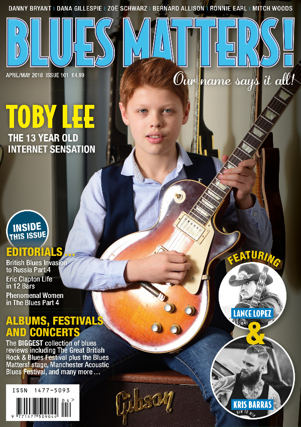 Blues Matters front cover issue 101