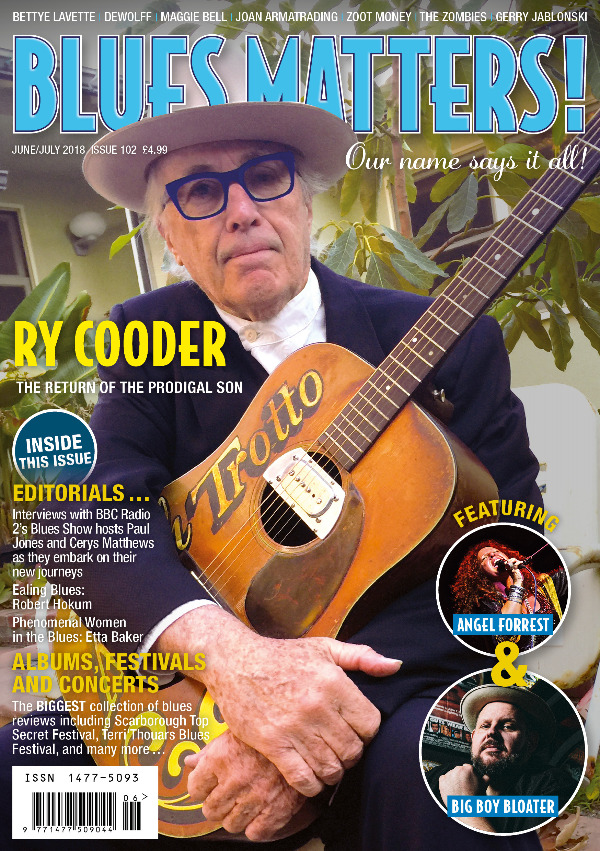 Blues Matters issue 102 front cover