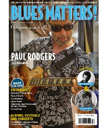 Blues Matters Issue 105 front cover