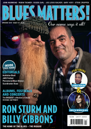 Blues Matters Issue 107