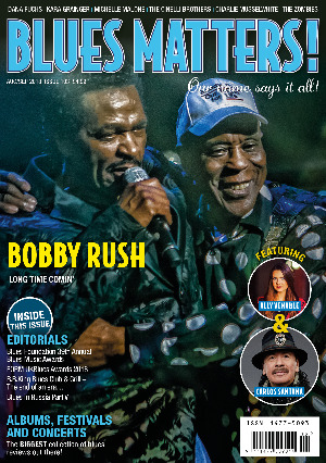 Blues Matters front cover issue 103