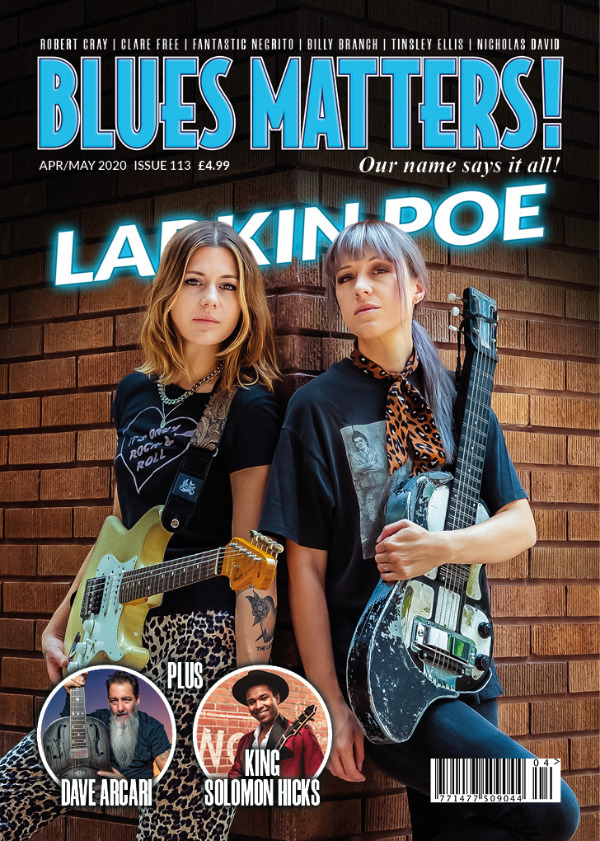 Blues Matters Issue 113 front cover