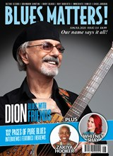Blues Matters ISSUE 114 front cover