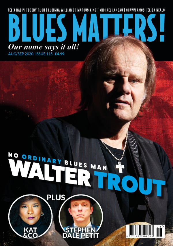 Blues Matters Issue 115