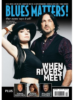 Blues Matters Issue 117 front cover