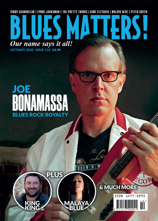 Blues Matters Issue 116 front cover