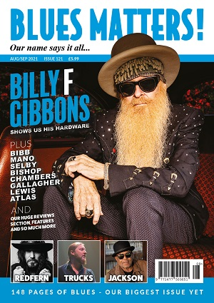 Blues Matters Issue 121 Front Cover
