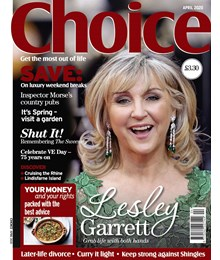 Choice April 2020 front cover