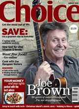 Choice August 2020 front cover