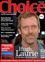 Choice January 2021 front cover