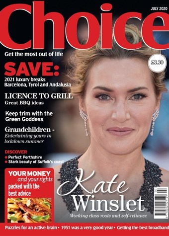 Choice July 2020 front cover