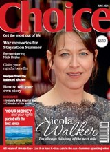 Choice June 2021 front cover