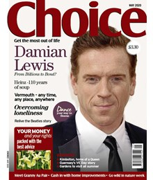Choice May 2020 front cover