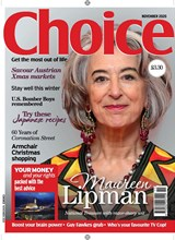 Choice November 2020 front cover