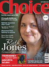 Choice September 2020 front cover