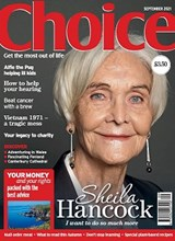 Choice September 2021 front cover