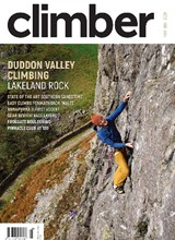 Climber May June 2021 front cover