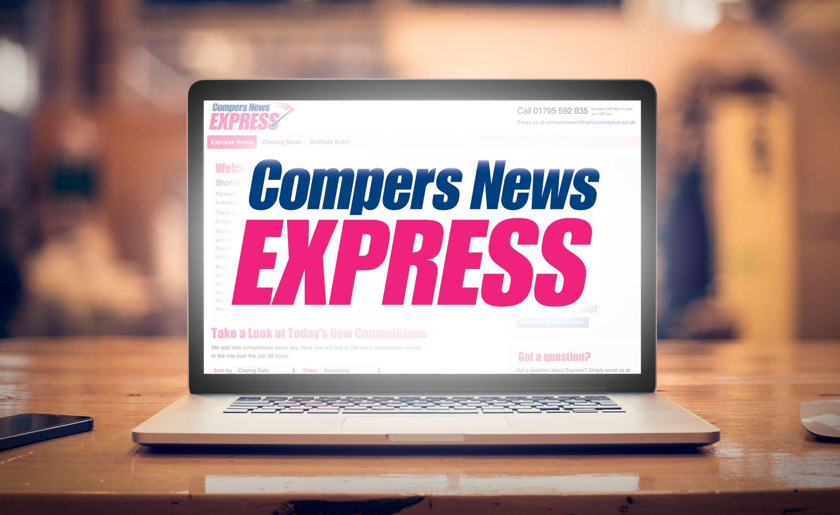 compers news express brand image