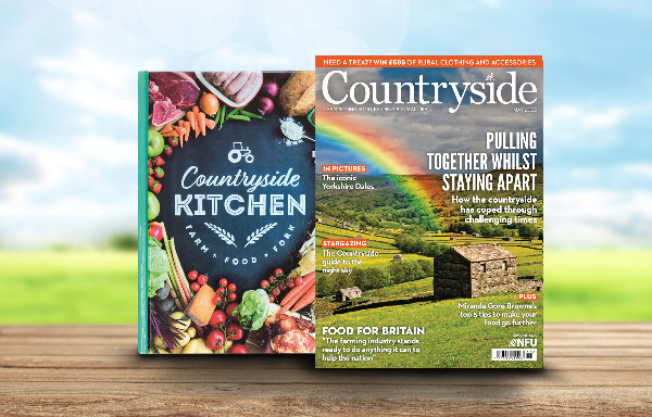 Countryside June 2020 front cover and recipe book