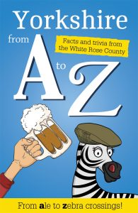 Front cover of Yorkshire from A to Z book