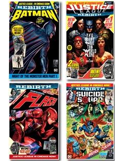 DC Justice League Four Issue Bundle