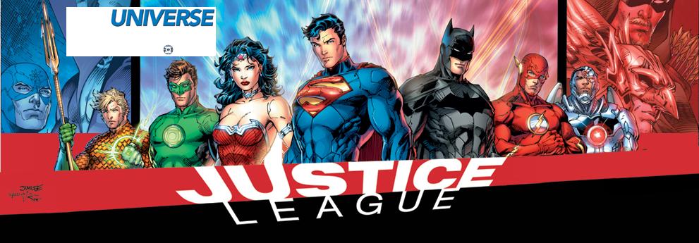 DC justice league logo