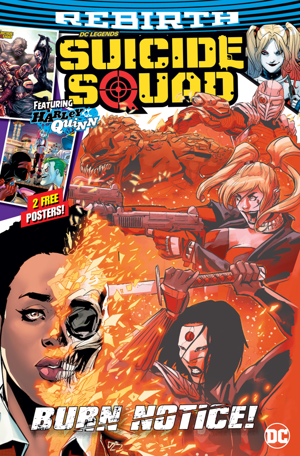 Suicide Squad issue 10 front cover