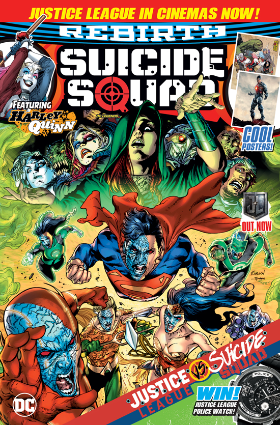 DC Legends Suicide Squad Back Issue