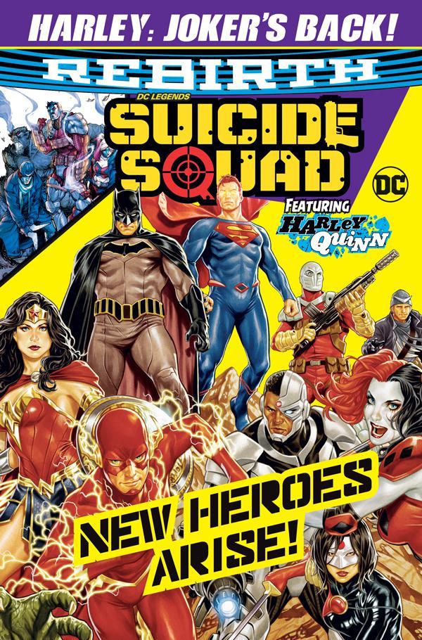 DC Legends Suicide Squad Back Issue