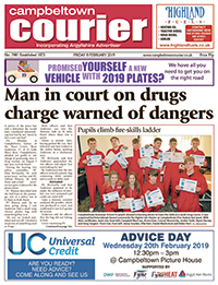 Cambeltown Courier front cover