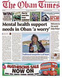 The Oban Times front cover