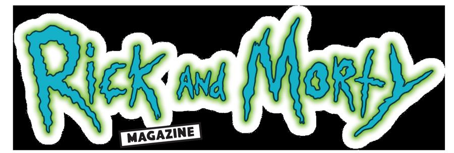 Rick and Morty magazine logo