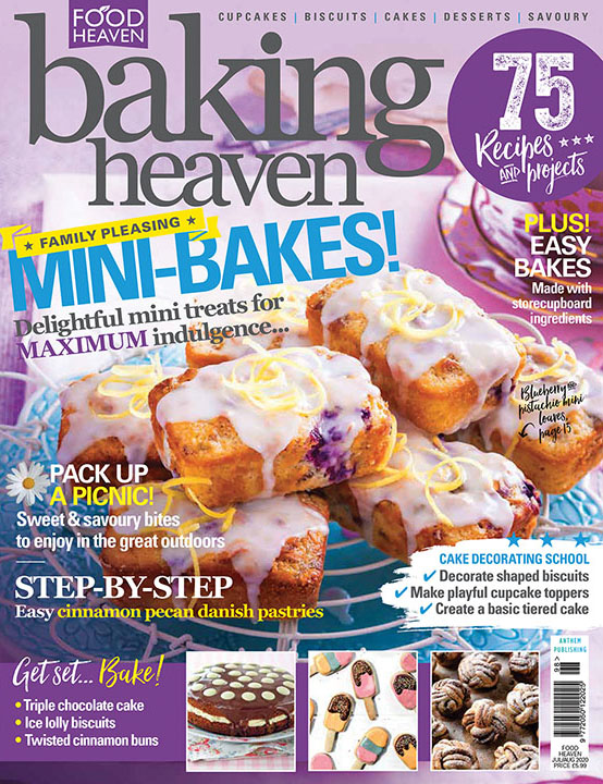 Baking Heaven Jul Aug 2020 front cover