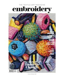 Embroidery Jan Feb 2020 front cover