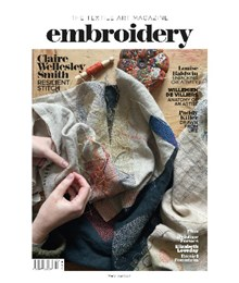 Embroidery Mar Apr 2021 front cover