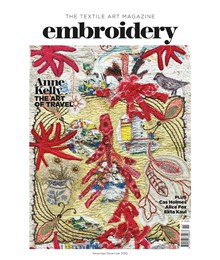 Embroidery November December 2020 front cover