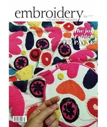 embroidery May/Jun 17 cover