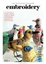 Sep Oct Embroidery magazine front cover