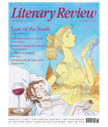 Literary Review August 18 front cover