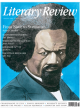 Literary Review August 2019 front cover