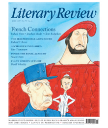 Literary Review July 18 front cover