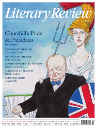 Literary Review October 18 front cover