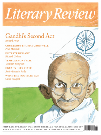 Literary Review September 18 front cover