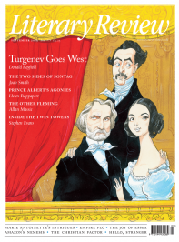Literary Review September 2019 front cover