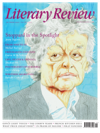 Literary Review October 2020 front cover