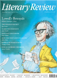 Literary Review February 2020 Front Cover