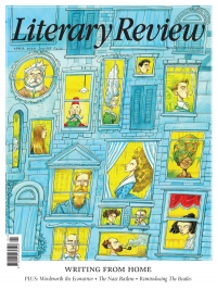 Literary Review April 2020 front cover